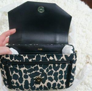 Maje Bags - NWT Maje Leopard Print Evening Bag
